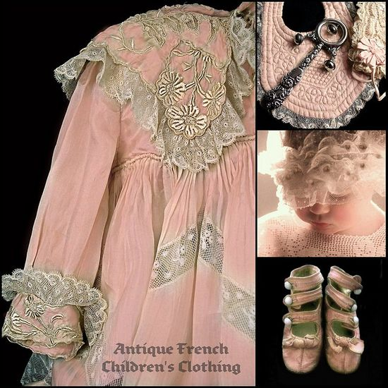 Antique French Childrens clothing - gorgeous!