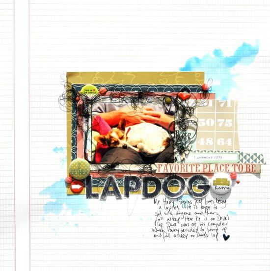 Lapdog - December Cocoa Daisy Kits - Scrapbook.com