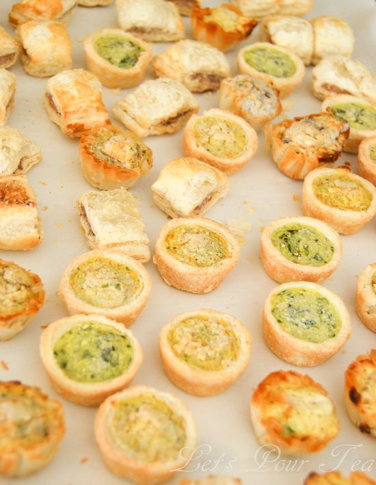 baby shower foods appetizers