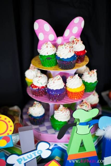 Wonderful Mickey Mouse Clubhouse Party.  See more party ideas at CatchMyParty.com!  #mickeymouse #minniemouse