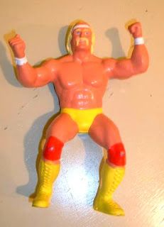 I had this toy believe it or not and I LOVED it! LOL Hulk Hogan rules! 80s Toys  --  WWF