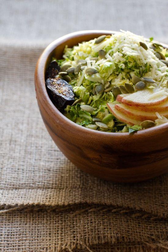 Cranberry Honey Basil Vinaigrette + Brussels Sprouts Salad