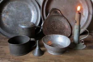 Antique tinware....love it.