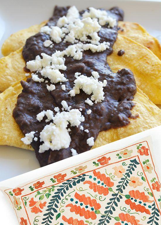Lulu & Georgia Enfrijolada Recipe // #mexican #food #recipe