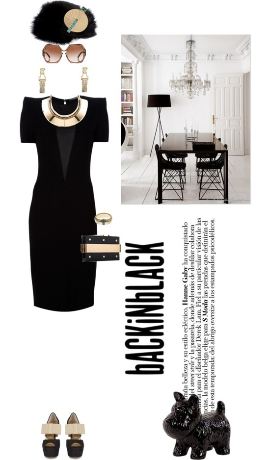 """Decadent deco"" by pensivepeacock ❤ liked on Polyvore"