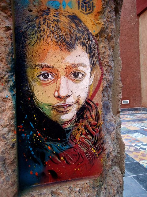C215 - Marrakech (MO)#street art #graffiti