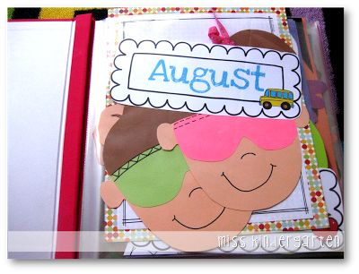 freebie...Organizing Crafts monthly cards