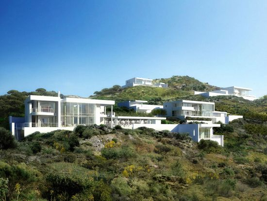 bodrum houses in yalikavak, turkey - richard meier & partners architects - designboom