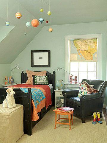 Cute boy's room.