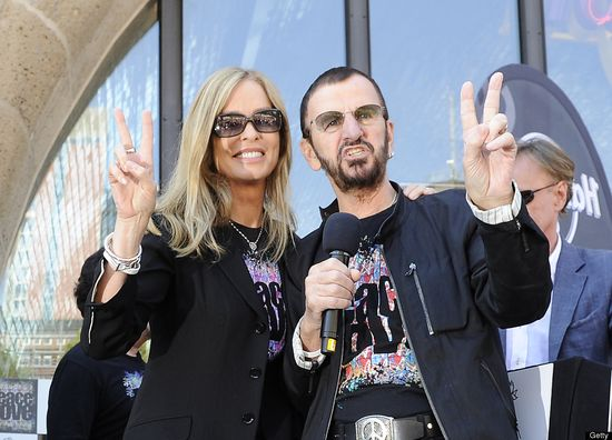 Ringo Starr and Barbara Bach, married since 1981