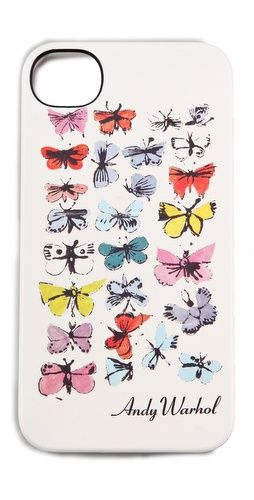 butterly iPhone case by andy warhol