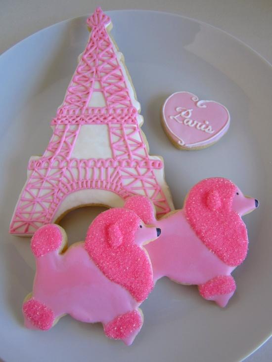 Pink Paris Sugar Cookies