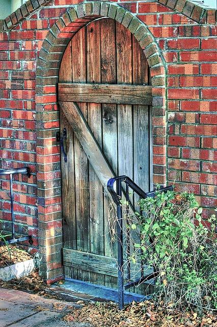 Garden gate, Orlando, FL