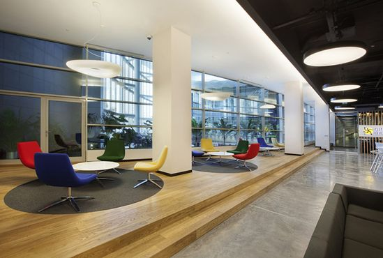 Ebay office by OSO Architects, Istanbul office design