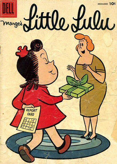 10 cent comic books - Lulu, my favorite comic book:)