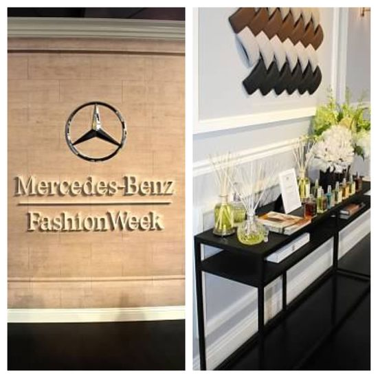 It's been such an exciting week collaborating with Mercedes-Benz at #MBFW. They have chosen our Prosecco scent as the featured fragrance in their new 2014 S-Class car on display. We are honored! #AnticaMBFW