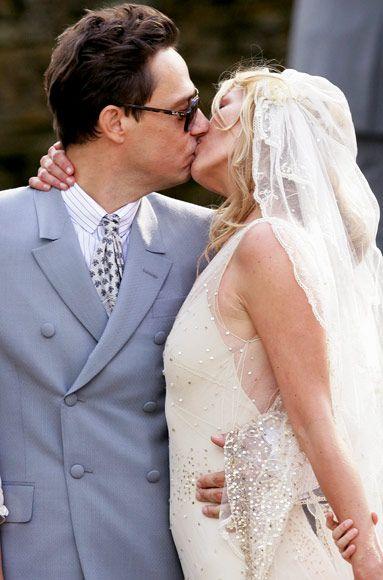 Jamie Hince + Kate Moss #celebrity #wedding