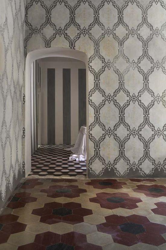pattern & floor