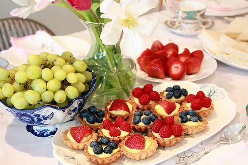 lovely fruit tarts