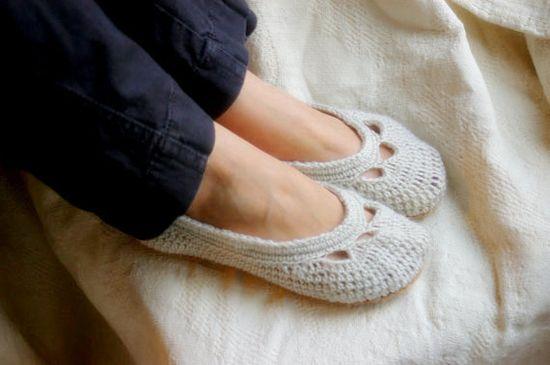 more slippers #crochet