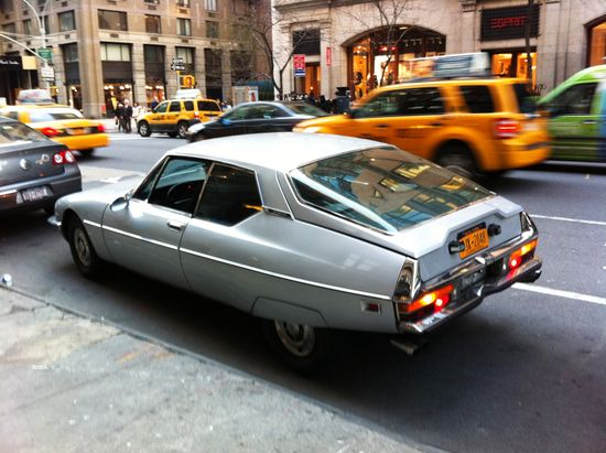 1973 Citroen SM – Fifth Avenue, NYC