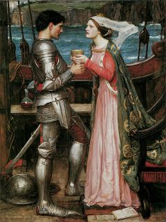 Waterhouse painting- Dover fairy tales