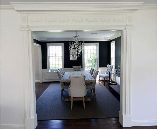 Dining room decorating design - Home and Garden Design Ideas