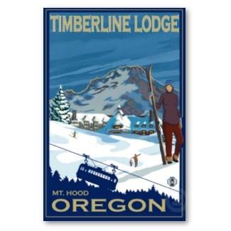 timberline lodge, Mt. Hood,OR