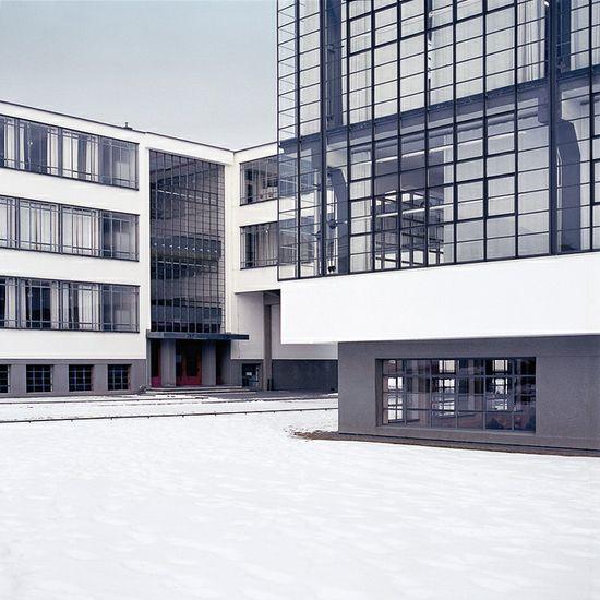 Gropiusallee, Dessau by Marcus Hasart, via Flickr