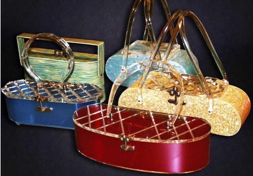 Vintage Lucite Handbags