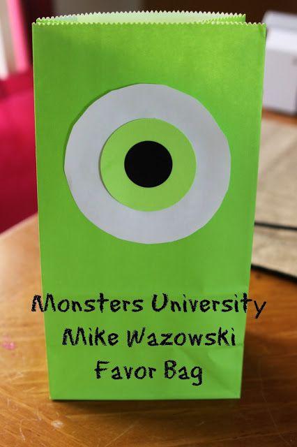 Monster Party Ideas #monstersinc #monster #halloween
