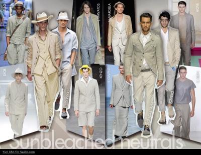 Colores claros y neutros para la primavera #fashion #menfashion #womenfashion #trendsetter