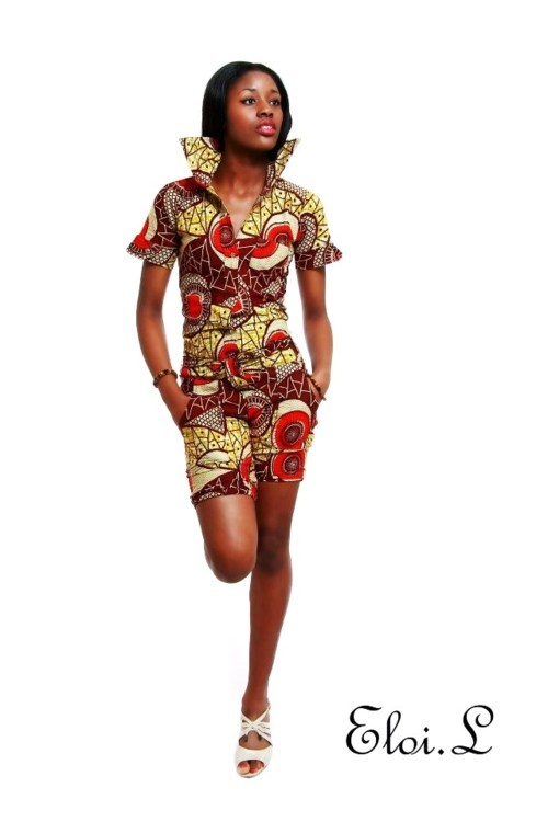 African Fashion,i love the print!