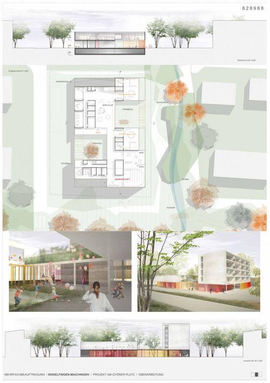 School Complex by (se)arch Architekten