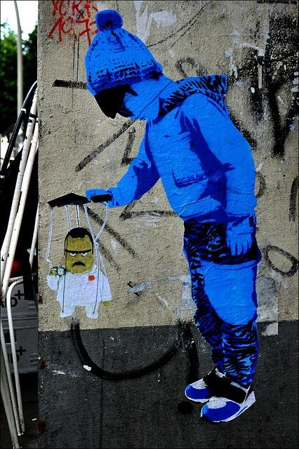 Marshal Arts  Streetart Hamburg