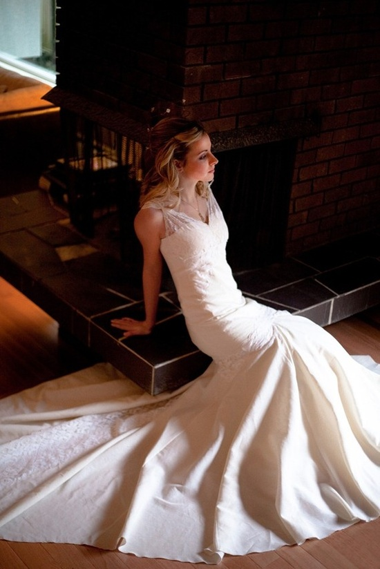 Vintage Lace Wedding Dress Eco Friendly by PureMagnoliaCouture, $1700.00