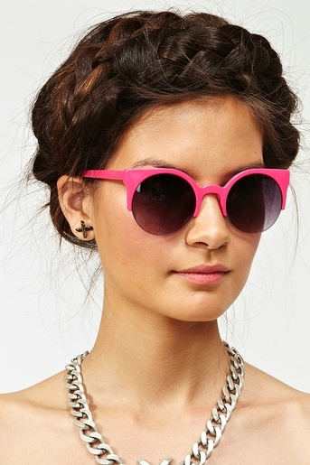 Loren Shades in Hot Pink