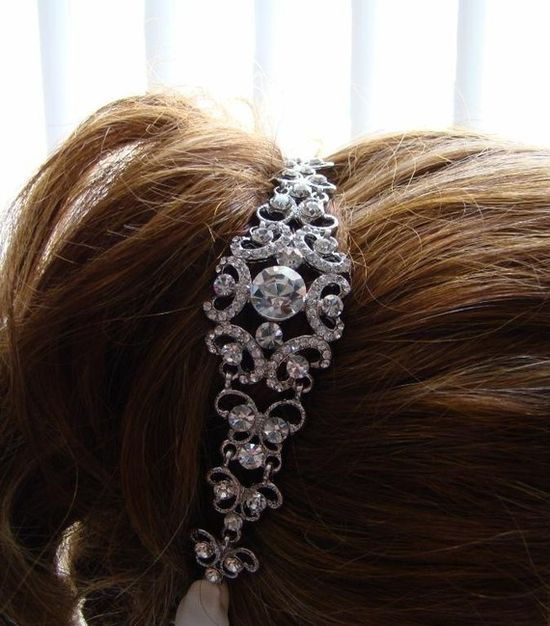 Sparkly hair accessories