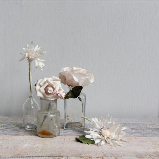 Vintage Millinery Flower via Etsy