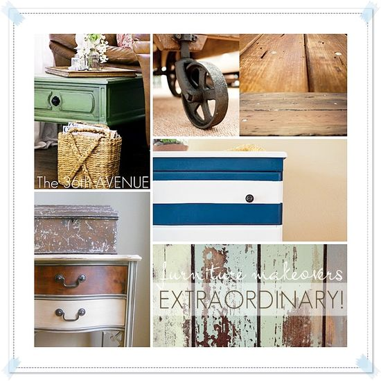 25 EXTRAORDINARY Furniture Makeovers
