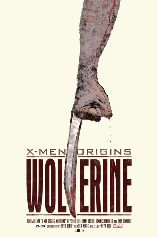 Wolverine - 12x18 - Movie Poster - by Duke Dastardly