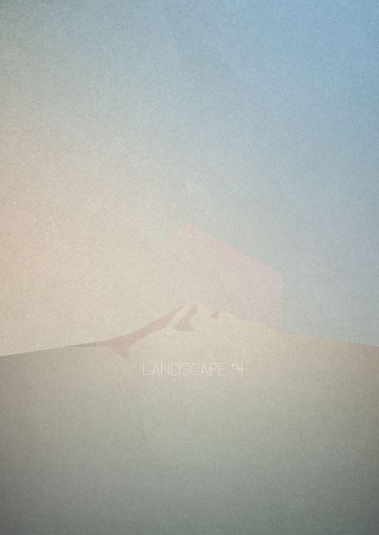 Landscapes by Hadrien Degay Delpeuch, via Behance