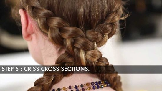Braided Updo Hairstyle: Tutorial