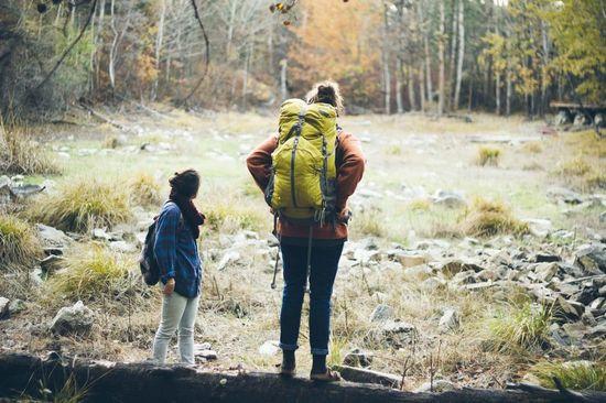 hiking, best friends