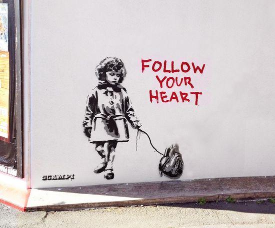 #street art #hearts