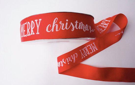 Cheery ribbon makes their handmade gifts extra festive.