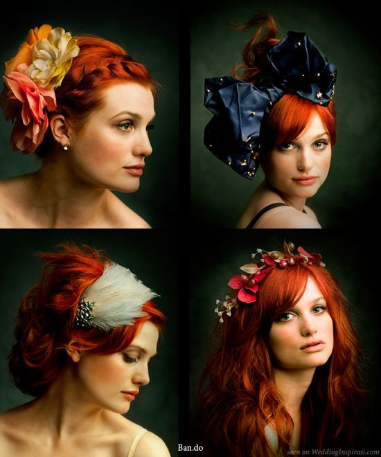 flowers hair