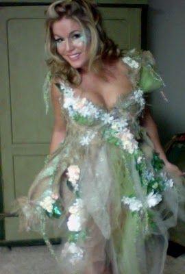 DIY fairy costume