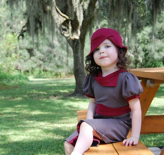 vintage inspired childrens clothes... adorable!