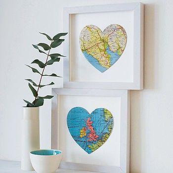 centro del Corazón en la ONU mapa de Nuestros sitios Favoritos --- quiza algunos Lugares de gira, Pero probablemente SÓLO de Texas y Missouri